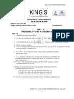 Random Processes Ma1254