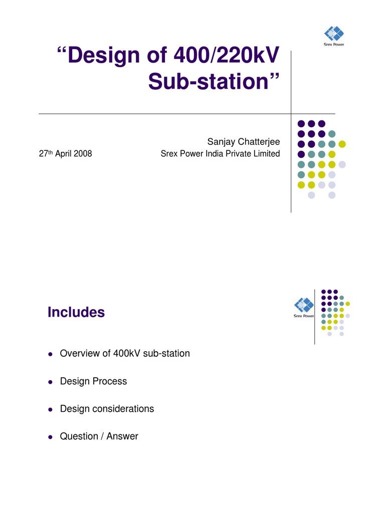 Basic of 400kv substation design electrical substation electric basic of 400kv substation design electrical substation electric power ccuart Images