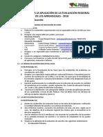 Protocolo Evaluación Regional 2018