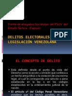 Delitos Electorales en La Legislación Venezolana
