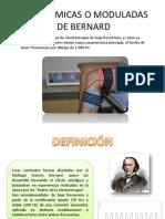 Diadinamicas o Moduladas de Bernard