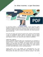 Programacao Adm II Cap.2 Texto Complementar Curriculo Materia Para Reflexao Flavia Gamonar