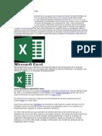 Historia de Microsoft Exce1