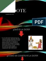 LA DOTE Powerpoint