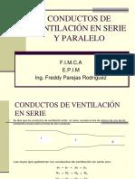 Conductos Ventilación Serie y Paralelo