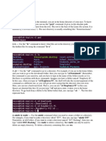 Linux Notes 1s21195
