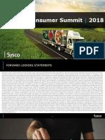 SYY Sysco 2018 Jefferies Presentation