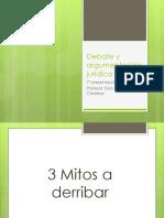 Introducción al Curso Debate y Argumentación Jurídica