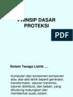 Prinsip Dasar Proteksi