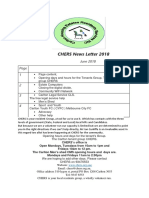 chers news letters 2017 -18
