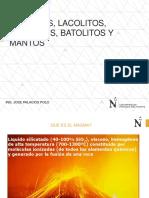 8.- Diques, Lacolitos, Facolitos, Batolitos y Mantos