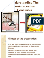 Understanding the Post-recession Consumer