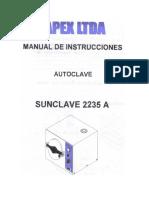 33679117 Manual Autoclave fapex