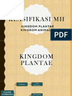 KD 3.2 Kelas 7 - Klasifikasi Plantae & Animalia