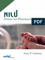 NICU Pharmacology 2016