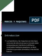 Marcos y Maquinas