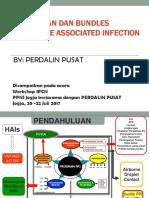 Pencegahan Dan Penerapan Bundles HAIs