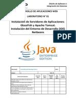 Lab01-DAW - Instalacion de Servidores de Aplicaciones e IDE
