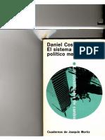 Daniel Cosío Villegas. El sistema político mexicano.pdf