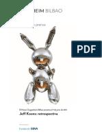 Dossier Jeff Koons ESP