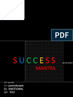 Sucess Mantra Motivational Lecture Dr Bhatt