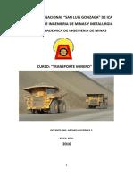 Tema 1 Carguío y Transporte