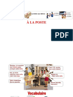 FLE - A la poste
