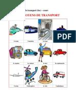 FLE - Les Moyens de Transport