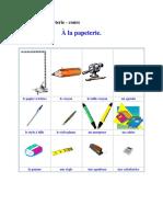 FLE - A La Papeterie