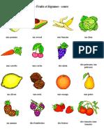 FLE - Voyelles - Fruit Et Légumes