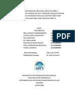 Laporan PBL 1 Kelompok VIII