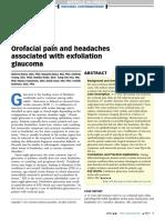 Orofacial Pain and Headaches