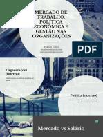 Aula 4 - Mercado de Trabalho, Politica Economia e Gestao Salarial
