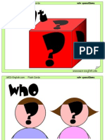 Questions Flashcards