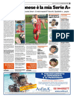 La Gazzetta Dello Sport 10-09-2018 - L'Intervista a Emmers