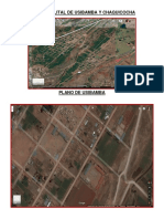 Mapa Satelital de Usibamba y Chaquicocha