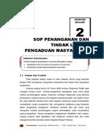 SOP Pengaduan Dan Tindak Lanjut Pengaduan Masyarakat