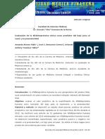 Evaluación de la Alfafetoproteína sérica
