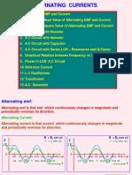 2 Alternating Currents