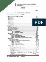 Estructura de Sustentacion Programa Sap