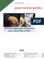 Manual Caja de Cambios Automatica Converted