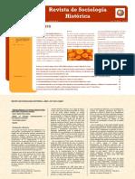 Revista de Sociología Histórica - Año1 - Número 1 - Oct. 2010 - ISSN