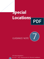 Guidance Note 7 - Special Locations (IEE Guidence Notes)