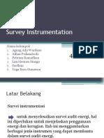 Survey Instrumentation