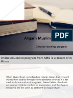 Online Education Program From AMU is a Dream of Millions