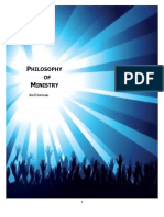 Joel Dorman's Philosophy of Ministry (version 1.0)