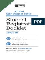 Student Registration Booklet Students 2017
