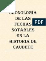 Cronología de la Historia de Caudete.1.2