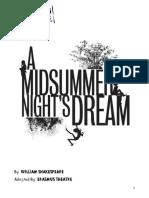 A Midsummer Night's Dream Script