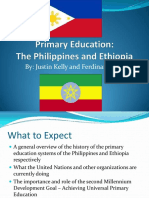 Primary-Education in the Philippines and Ethiopia